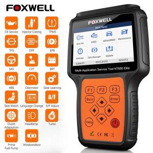 Foxwell NT650 Elite – Scanner Automotivo OBD2