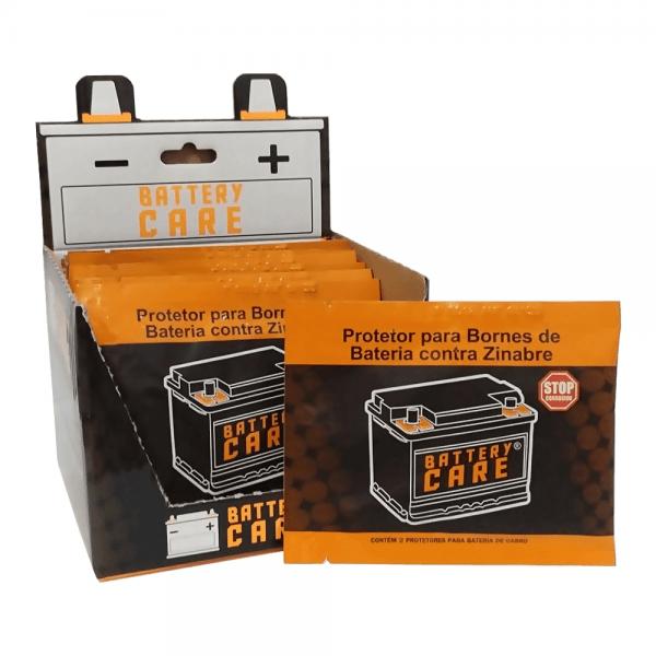 Battery Care – Protetor para bornes de baterias contra zinabre – Caixa com 12