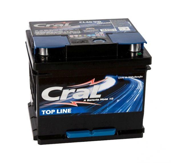 Bateria Cral – CL40 VD – 40 Ah