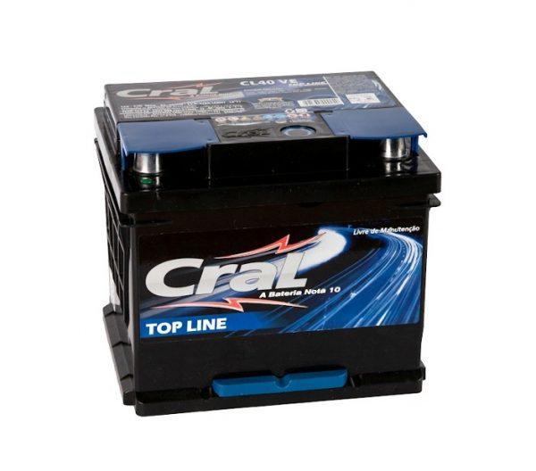 Bateria Cral – CL40 VE – 40 Ah