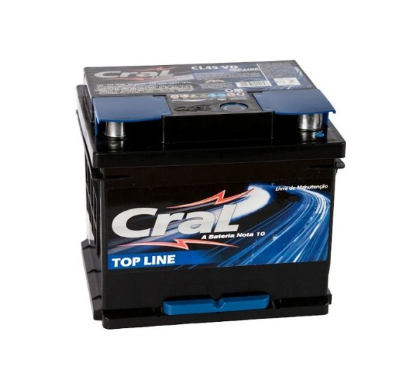 Bateria Cral – CL45 VD – 45 Ah