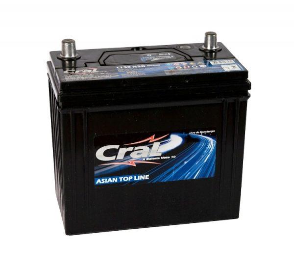 Bateria Cral – CL50 NSD – 50 Ah