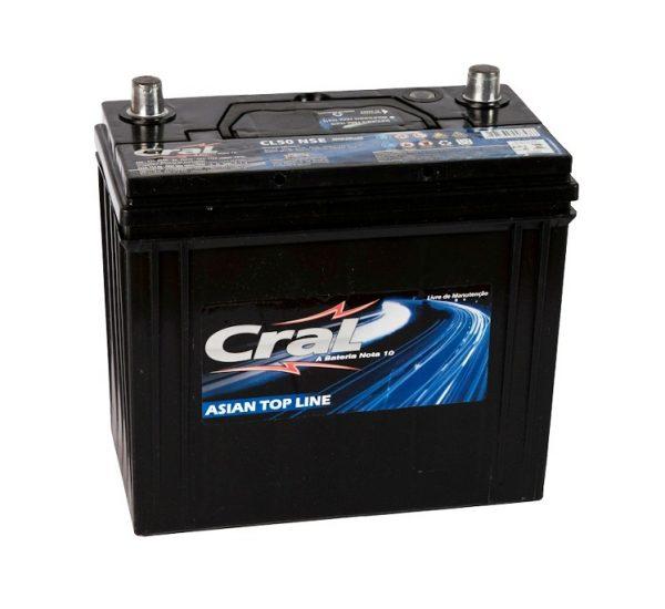 Bateria Cral – CL50 NSE – 50 Ah