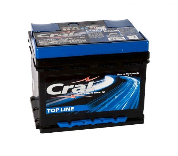 Bateria Cral – CL60 JD – 60 Ah