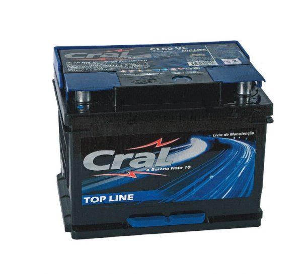 Bateria Cral – CL60 VE – 60 Ah