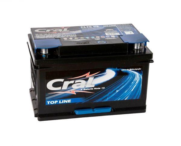 Bateria Cral – CL70 VE – 70 Ah