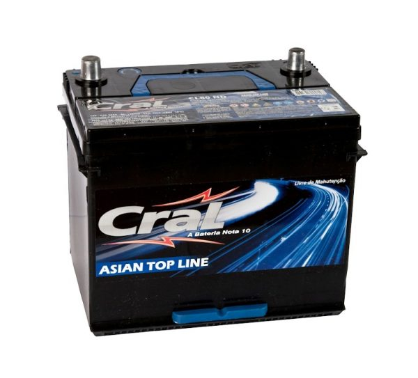 Bateria Cral – CL80 ND – 80 Ah