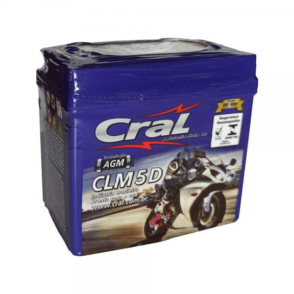 Bateria Cral Moto – CLM 5 D – 5 Ah