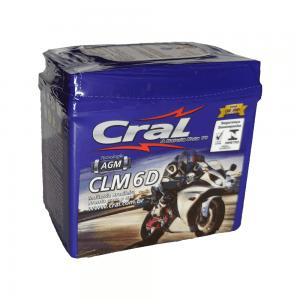 Bateria Cral Moto – CLM 6 D – 6 Ah