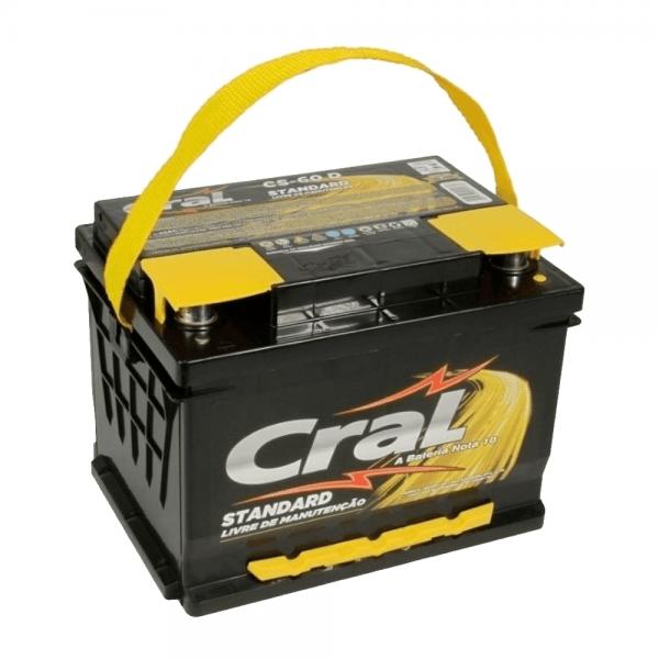 Bateria Cral – CS-60 D – 60 Ah