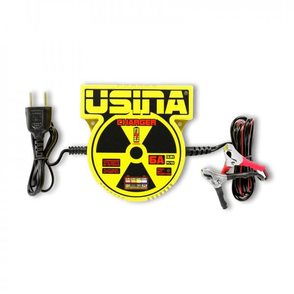 Carregador Inteligente de Baterias Usina Charger 6A – 12V