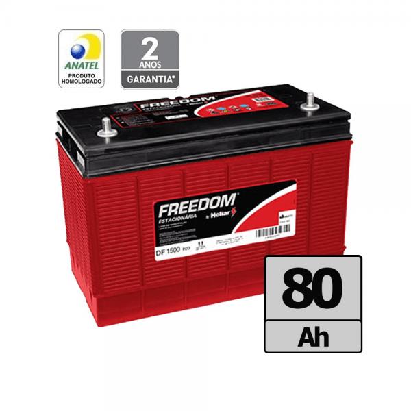 Bateria Freedom by Heliar – DF1500 -80 Ah