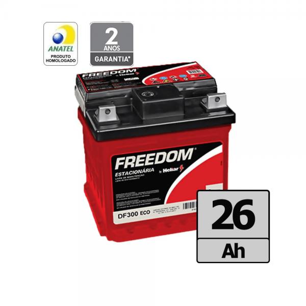 Bateria Freedom by Heliar – DF300 – 26 Ah