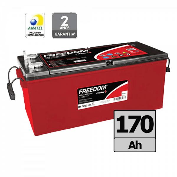 Bateria Freedom by Heliar – DF3000 – 170 Ah