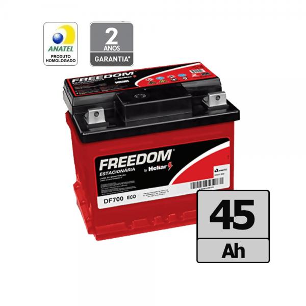 Bateria Freedom by Heliar – DF700 – 45 Ah