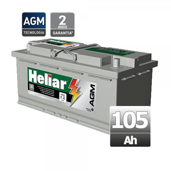 Bateria Heliar – AGM – AG 105SD