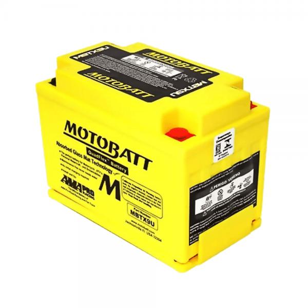 Motobatt – QuadFlex – MBTX9U – 10,5 Ah