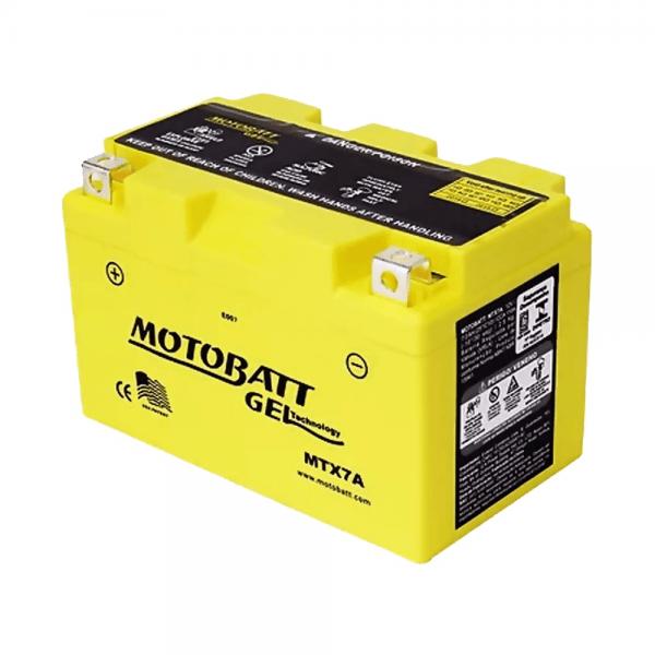Motobatt – Gel – MTX7A – 7 Ah