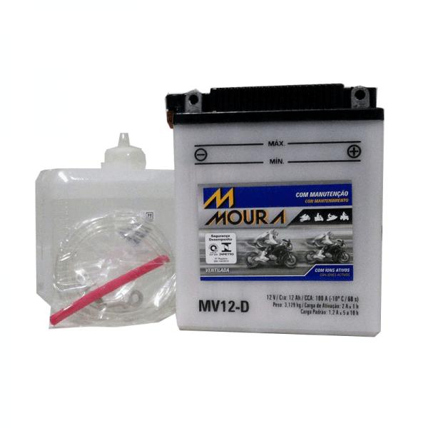 Bateria Moura Moto – MV12-D – 12 Ah