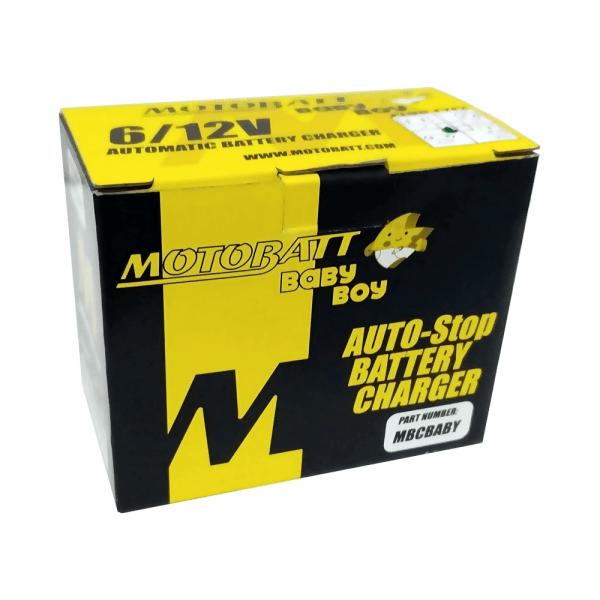 Motobatt – Baby Boy – 6V/12V 0,5A – Carregador automático