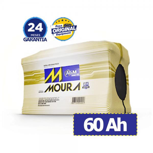 Bateria Moura AGM – MA60AD – 60 Ah