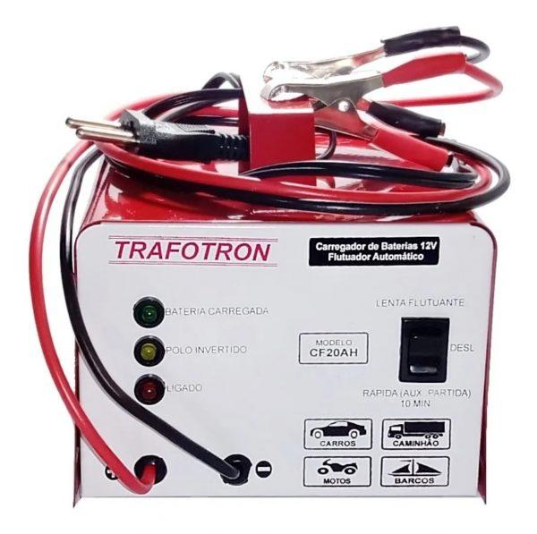 Carregador de Baterias 12v 0.2~5A / 20A – CF20AH – Trafotron