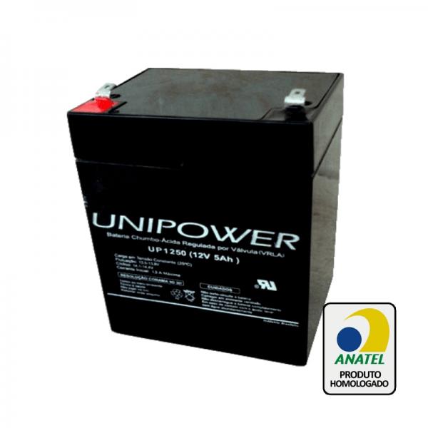 Bateria Unipower – UP1250 12V – 5Ah