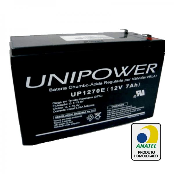 Bateria Unipower – UP1270E 12V – 7Ah