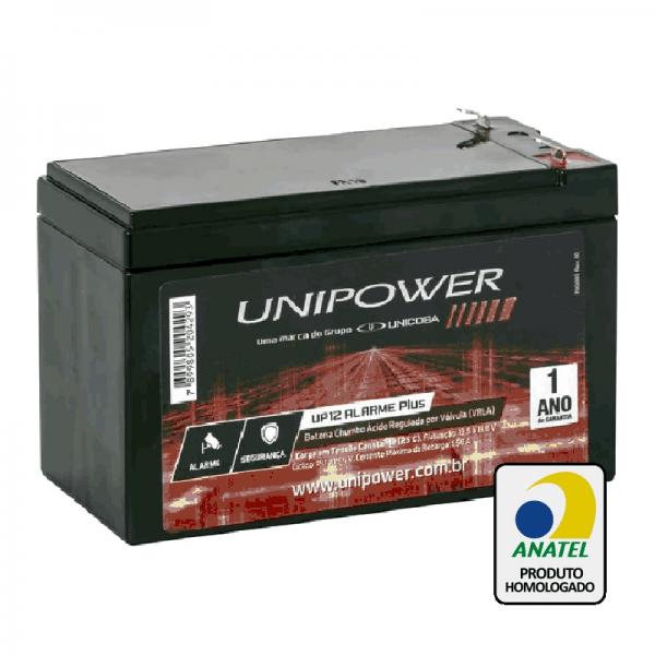 Bateria Unipower – UP1270SEG 12V – 7Ah