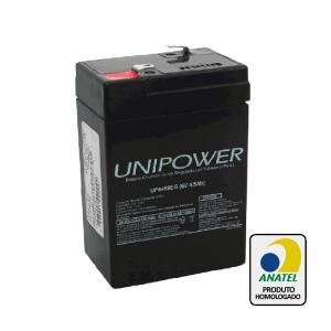 Bateria Unipower – UP645 6V – 4,5Ah