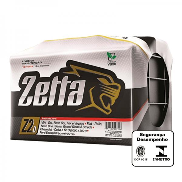 Bateria Zetta – Z60D – 60 Ah