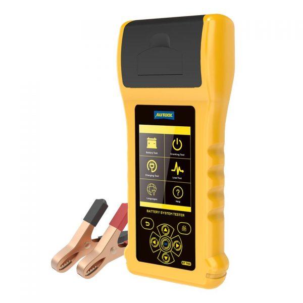 Autool BT760 – Analisador de baterias com tela colorida e impressora