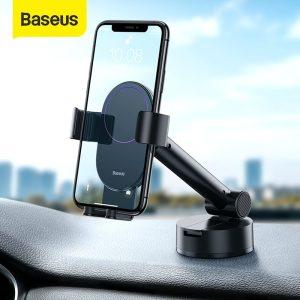 Suporte para smartphone de 4.7~6.5″ com base ajustável – Baseus